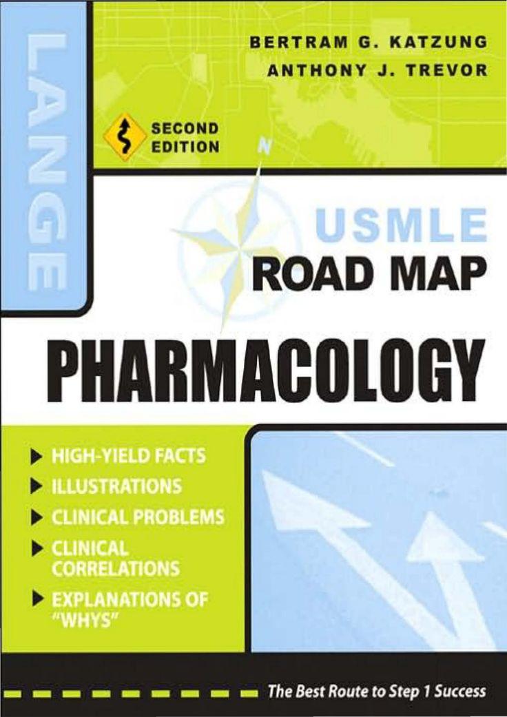 USMLE Road Map Pharmacology by Sohana Brishty via slideshare