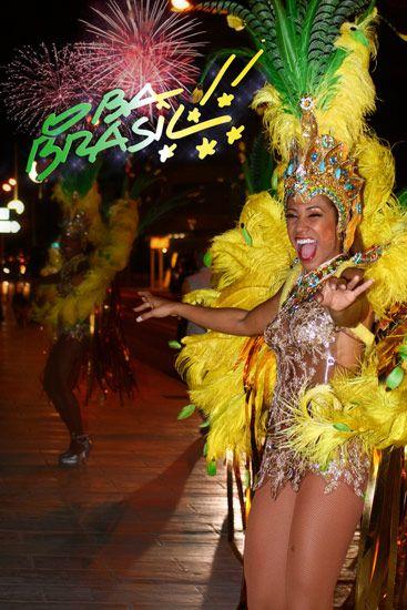 Samba   Danseuse brésilienne  Brazilian dancer Costume bresilien brasil brazil brésil
