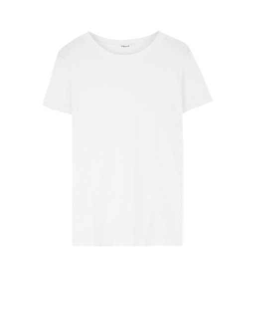 Cotton Tee - Tops - Shop Woman - Filippa K