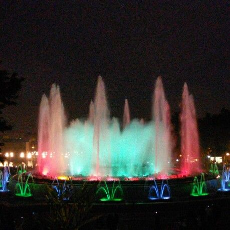 Fontana, colori, musica