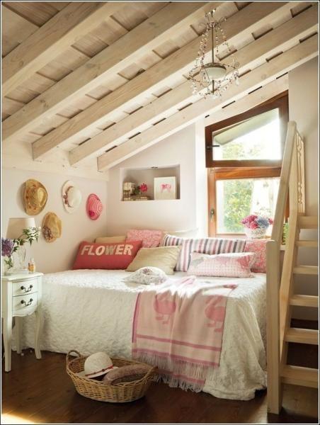10 felújított tetőtéri szoba, amelyet te is imádnál