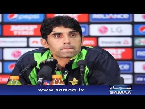Misbah happy over top test position  feels like a World Cup win.