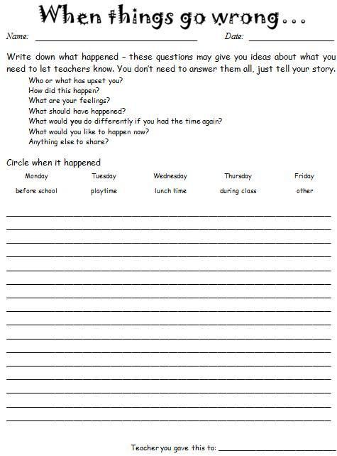 Best 25+ Behavior sheet ideas on Pinterest Behavior reflection - how to make a sign in sheet in word