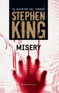 Blog Lectura fantástica del día: Misery de Stephen King Páginas:372Temáticas:Misterio y terror. Literatura Universal.Fantasía.