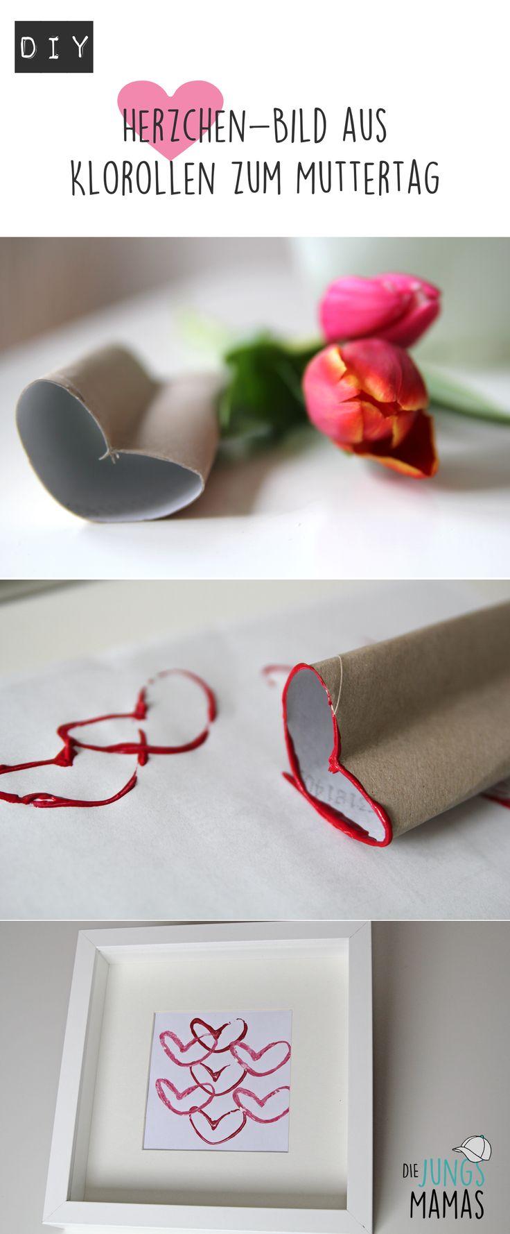 Wirkungsvolles und einfaches Muttertagsgeschenk DIY mit Kids // Easy and beautiful mothers day present DIY