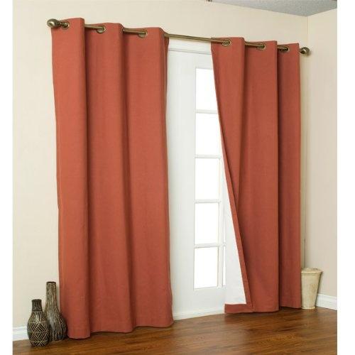 Window Treatment For Sliding Doors. Door CurtainsGrommet ...