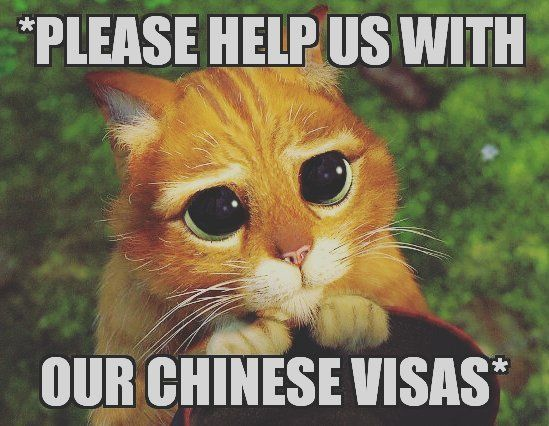 HELP PLEASE We are UK passport holders travelling to May 8th. Before that we are in India Bhutan S. Korea and Japan. Which means we cannot apply in the UK as we have to enter China within 3 months of the visa being granted this we cannot do so we have to apply in a third country.  Has anyone had to do this recently? I am at my wits end.