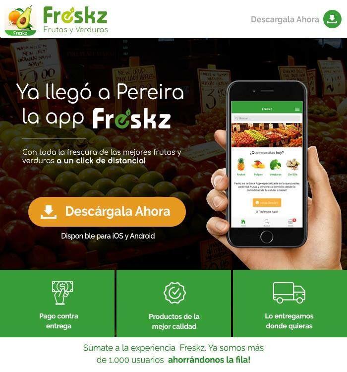 Te invitamos a conocer @FreskzApp una app que creamos para pedir frutas y verduras a domicilio. exus.cf/2zRaLfD https://exus.cf/2AXitVJ