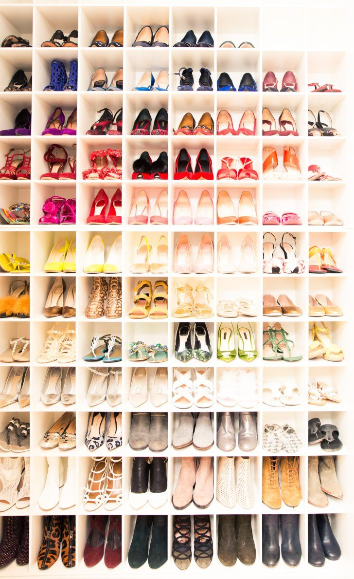 Inside Dermatologist Dr. Tina Alster's Closet: A Rainbow of Various Designer High Heels and Boots | coveteur.com