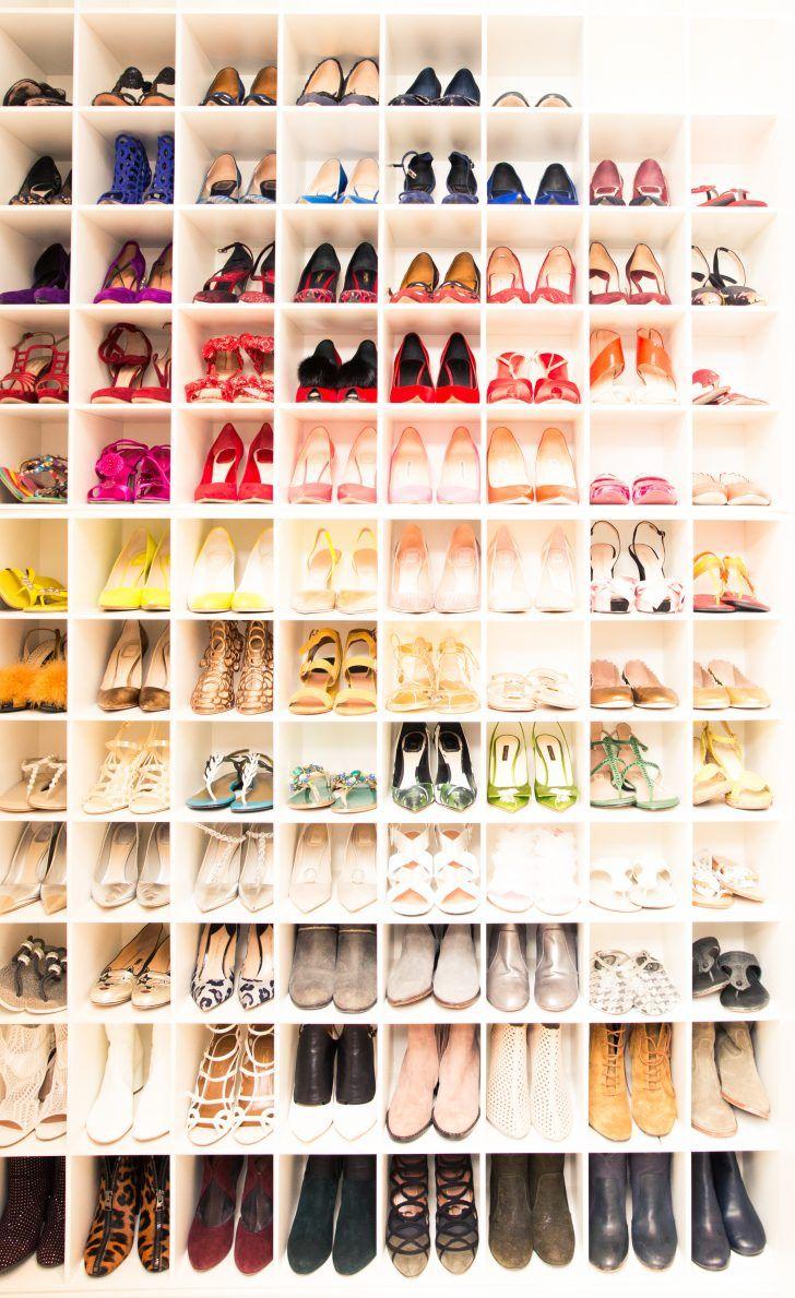 Inside Dermatologist Dr. Tina Alster's Closet: A Rainbow of Various Designer High Heels and Boots | coveteur.com