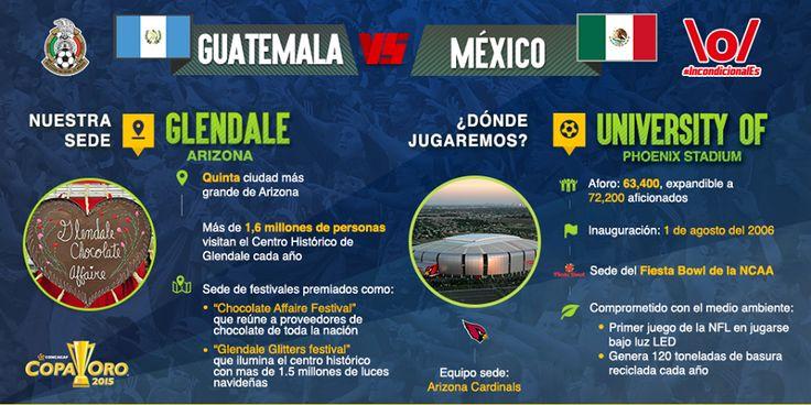 Conoce un poco más sobre el University of Phoenix Stadium, sede del partido de México vs. Guatemala.