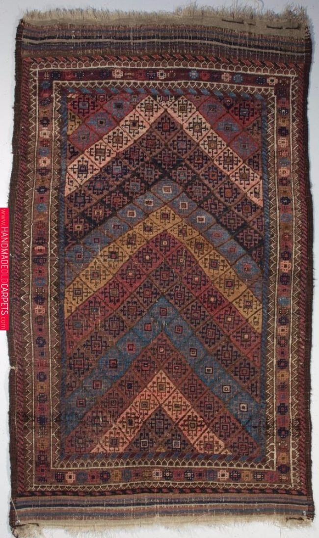 Antique Persian Baluch Rug Northeast Persia Circa 1900 2 11 X 4 10 Ft Rugs Tribal Rug Antiques