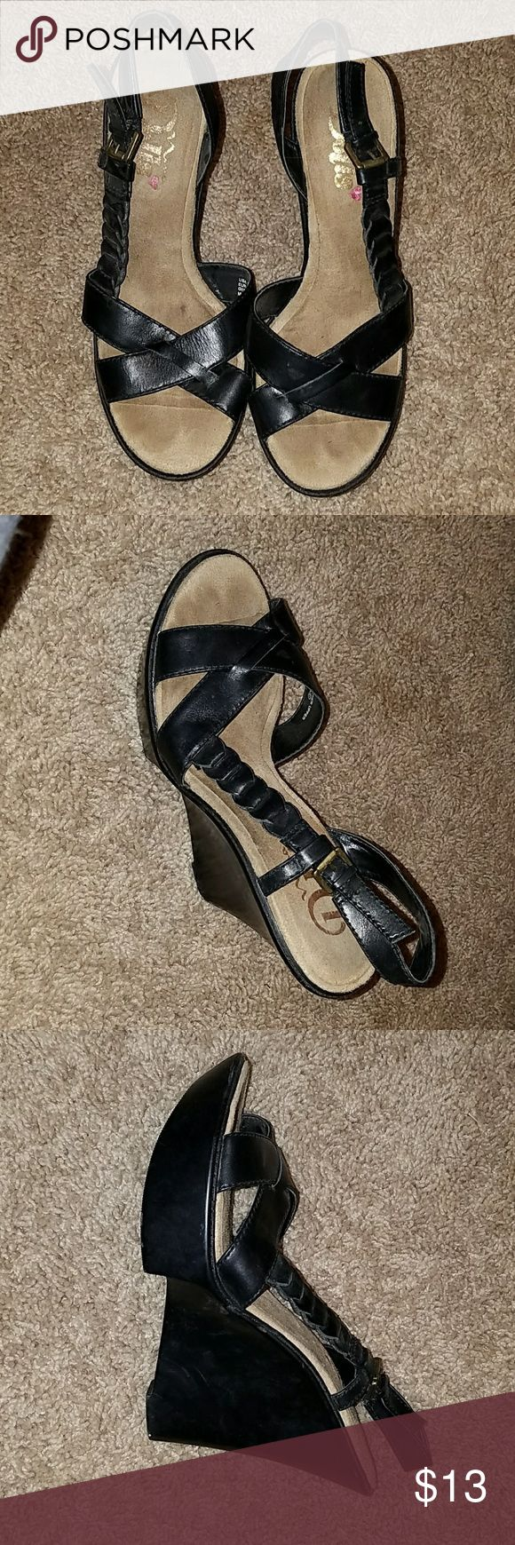 Dolls slingback sandals Cute slingback sandals with braiding detail along the side  (see photo #2) Dolls Shoes Sandals