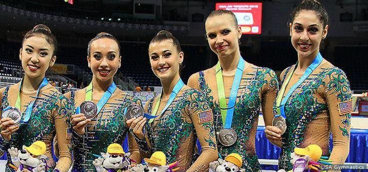 Team USA's Second-Ever Olympic Rhythmic Gymnastics Group Names Its Squad For Rio