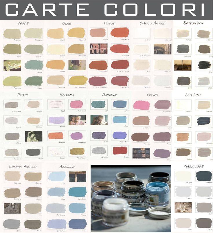 De kleurlijnen van Carte Colori ook mooi te gebruiken om interieurkleuren op elkaar af te stemmen!
