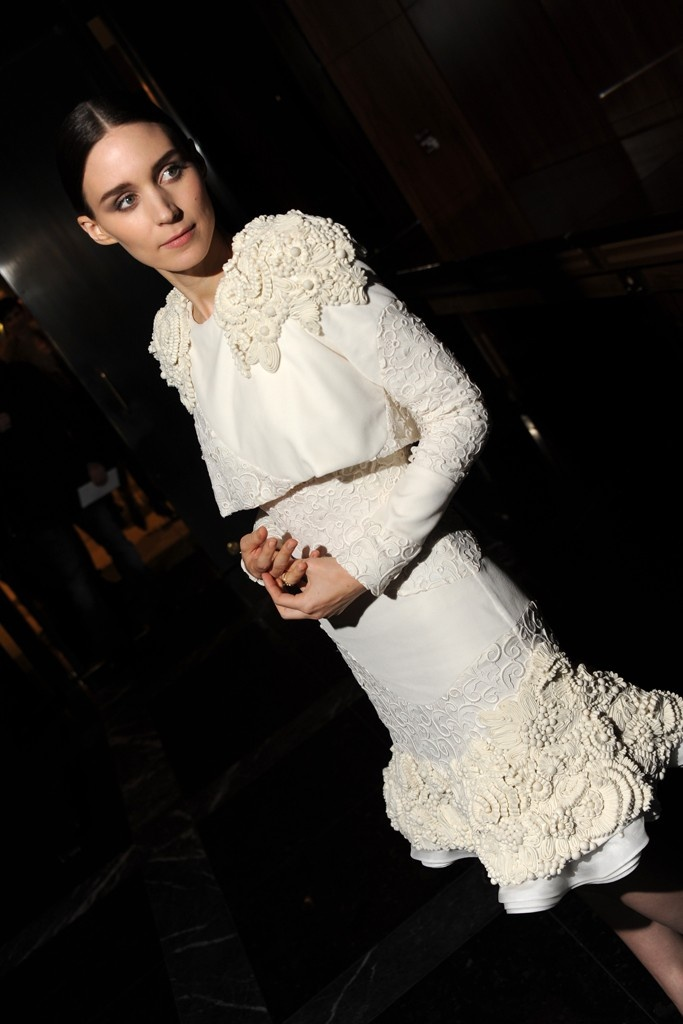 Rooney Mara in Alexander McQueen at the 'Side Effects' Premiere in New York