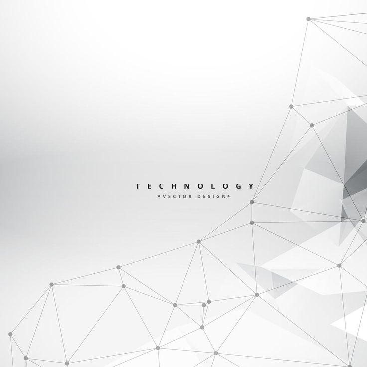 clean geometrical shapes technology background vector design ill