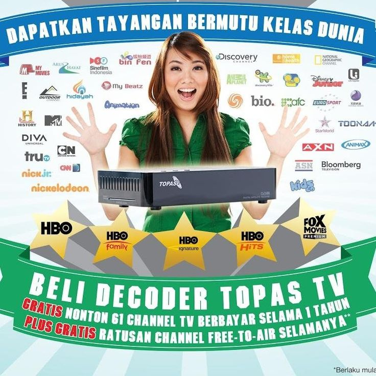 Pasang TOPAS TV di Semarang Semarang, Anak, Dunia