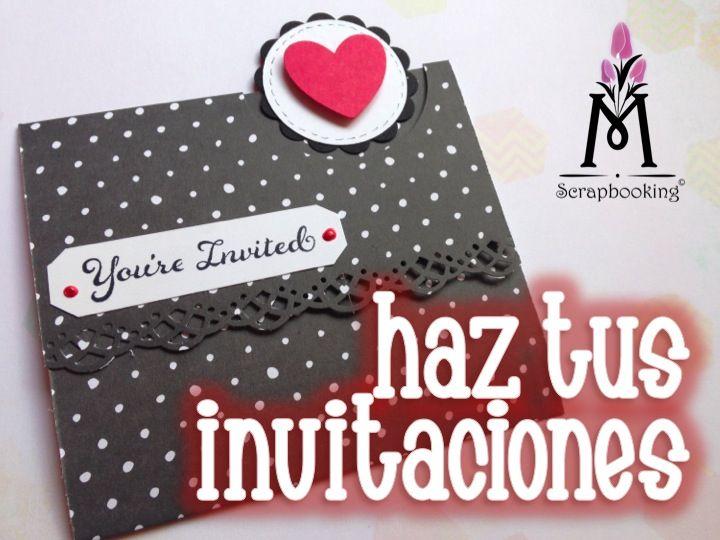 Puedes hacer tus invitaciones :)