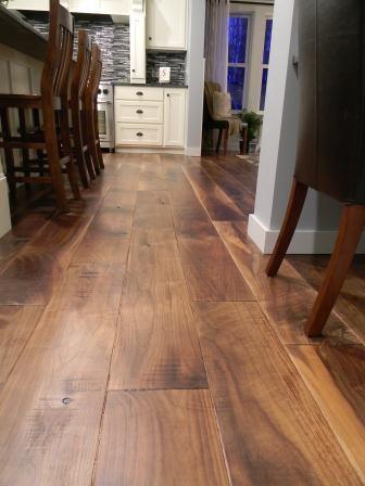Wide Plank Flooring Wide Plank Walnut Flooring Wood Floors Wide Plank Engineered Hardwood