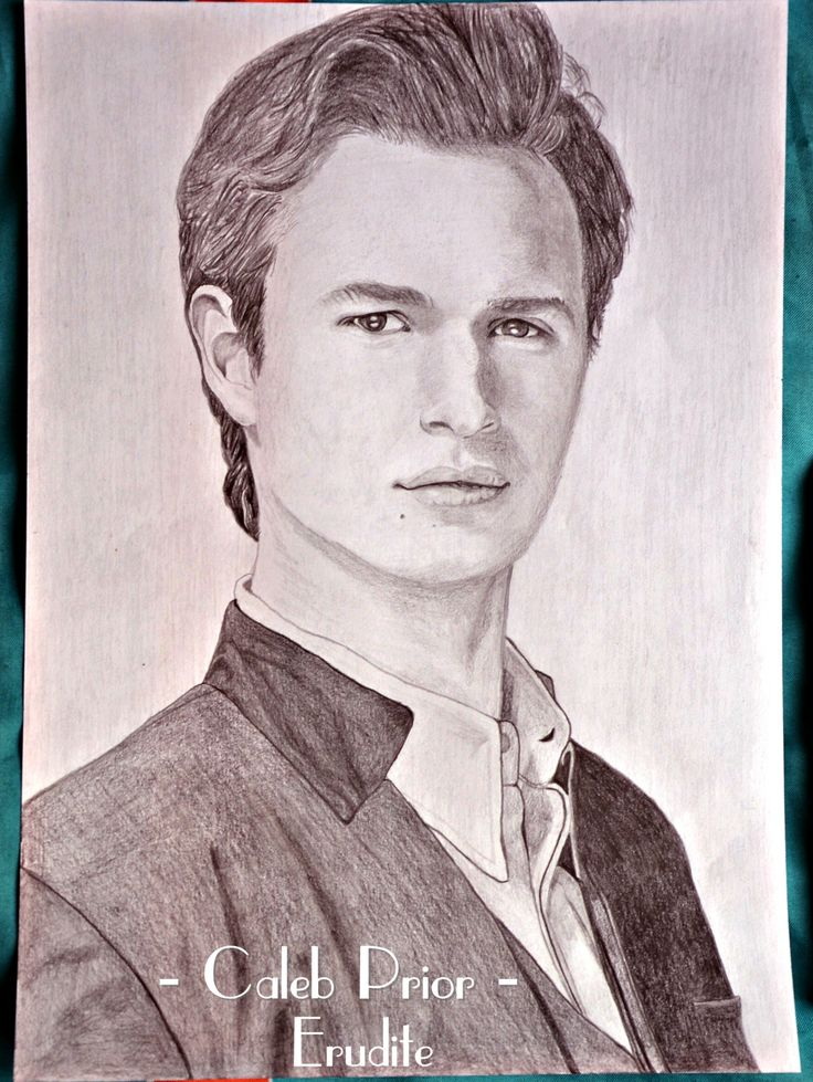 Drawing of Caleb Prior, Erudite. | Divergent | Insurgent ...