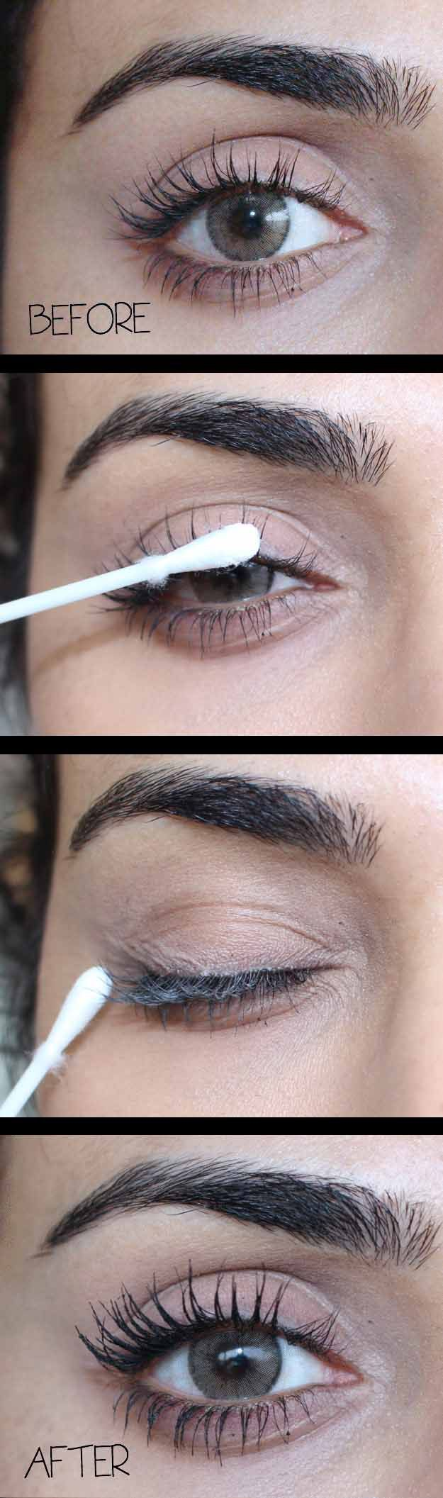 Ways to Get the Best Eyelashes Ever - Baby Powder for Seriously Voluminous Lashes - Step By Step Tutorials for DIY Eyelashes, Drugstore and Name Brand Products. Includes Natural, Fake, False, and Extensions Tutorials. These are Quick And Easy And Simple. You Can Use A Curler, Glue, Serum, And Primer. Beauty Tips and Tricks, Instructions Makeup - Mascara and eyelash and eyelashes - http://thegoddess.com/get-best-eyelashes