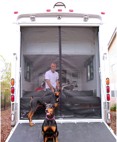 Toy Hauler Screens. Affordable and easy to install.
