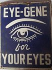 VINTAGE ENAMEL PORCELAIN UNUSUAL SIGN BOARD-EYE -GENE-MEDICAL/MEDICINE-VERY RARE - http://collectibles.goshoppins.com/science-medicine-1930-now/vintage-enamel-porcelain-unusual-sign-board-eye-gene-medicalmedicine-very-rare/