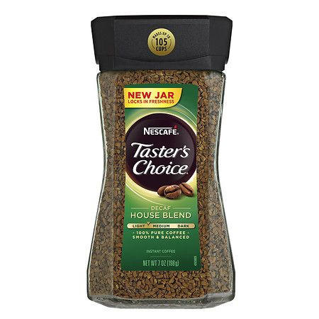 Nescafe Taster's Choice Instant Coffee Decaf House Blend - 7 oz.