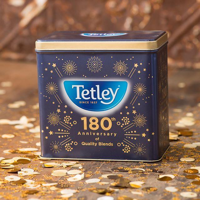 Tetley fans rejoice! 🎉Our Limited Edition 180th Anniversary Tea Tin is now available on Amazon.ca. Shop the link to add it to your tea collection!☕️ #tealove #teaforlife #keepittetley #tetleyforlife #teastagram #instatea #tealife #teaaddict #teaoftheday #tetleycanada #tetleytea #teatime #cupoftea #tea #teatip #cuppa #steepedtea #vscotea #momentsofmine #livethelittlethings #flashesofdelight #imsomartha