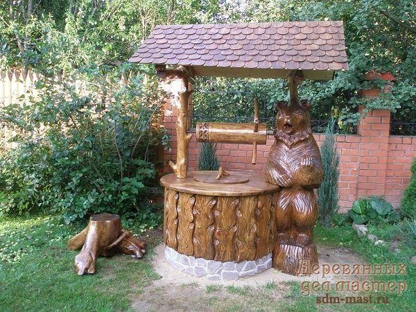 Деревянные изделия - цены и сроки изготовления деревянных беседок, столов и лавок, резьбы по дереву и т.д. в компании Деревянных Дел Мастер