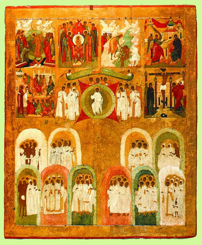 Около 1500 г.  Дионисий.  Школа Дионисия.  Шестоднев