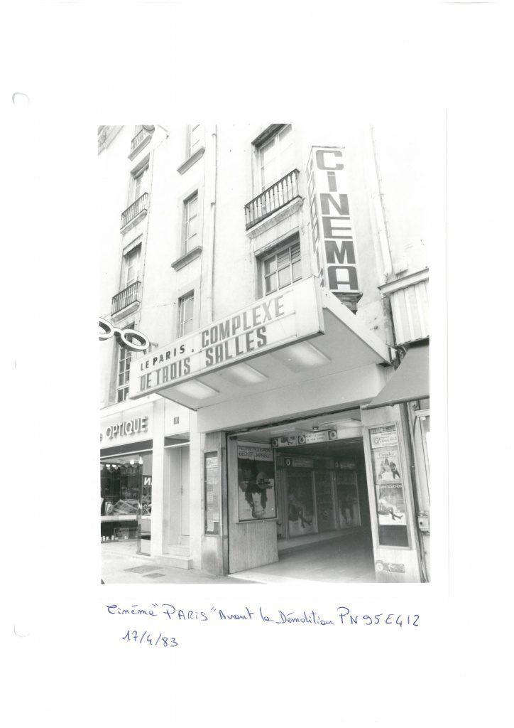 Cinéma le Paris - Grenoble (Disparu) @Cinémathèque de Grenoble