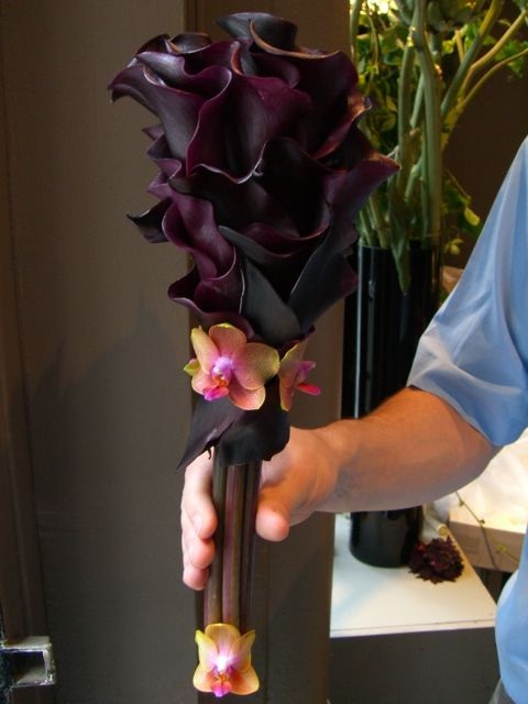 calla bouquet /volusiacountyweddings/ www.callaraesfloralevents.com