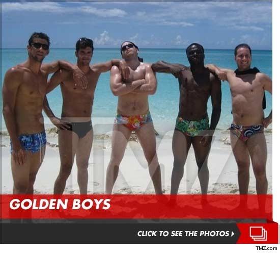 Michael Phelps Vacation Photos