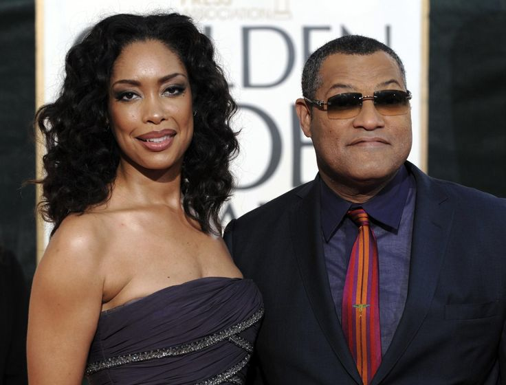 Gina Torres and Husband Laurence Fishburne - Hannibal - NBC - star together as husband and wife on the show.  Art and Life together.