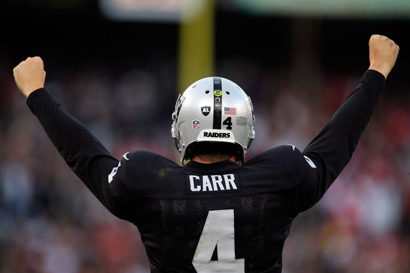 Derek Carr could be a great fantasy football sleeper pick. NFL football  2015