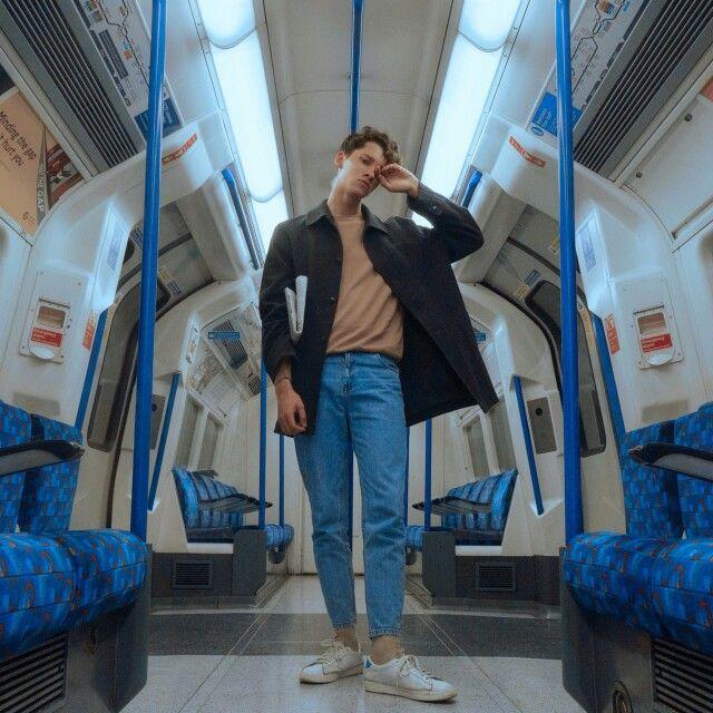 In the metro...