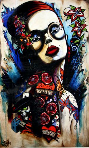 Terry Bradley - Paris Vegas - Irish Fine Art   Artists