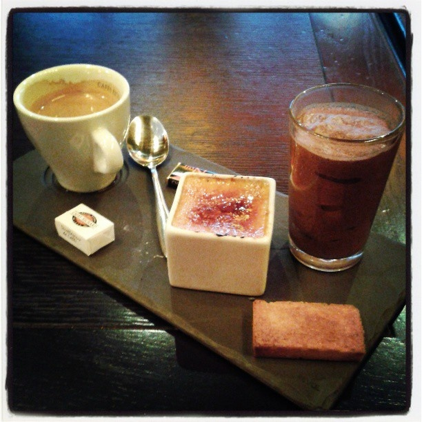 Cafe Gourmand - delicious treat at the end of a French evening