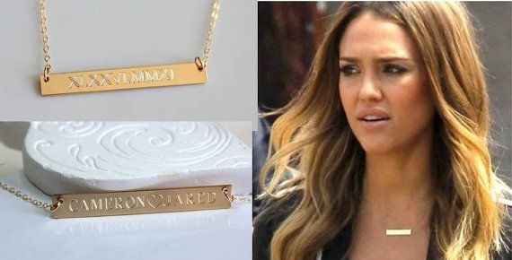 Solid 14k Gold Name Necklaces | The Name Necklace