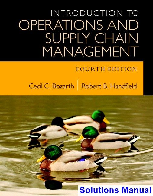 30 best solutions manual download images on pinterest introduction to operations and supply chain management 4th edition bozarth solutions manual test bank fandeluxe Images