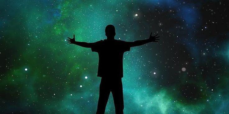 """3 faser i udviklingen af den menneskelige ånd. Udviklingen af den menneskelige ånd begynder med egoet eller """"mig"""" og ender i det frie rum af bevidsthed."""