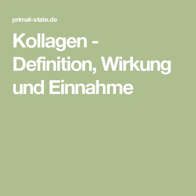 Kollagen - Definition, Wirkung und Einnahme