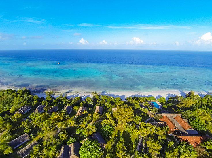 Подводный номер The Manta Resort в Танзании