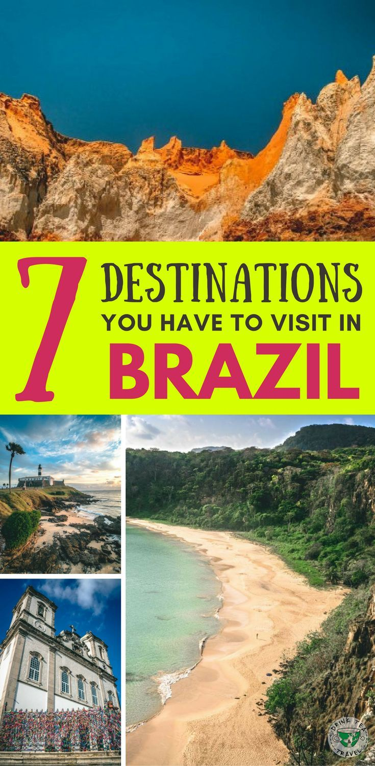 Planning a trip to Brazil? Here are 7 destinations you should include in your itinerary around Brazil. Recife, Salvador and more..