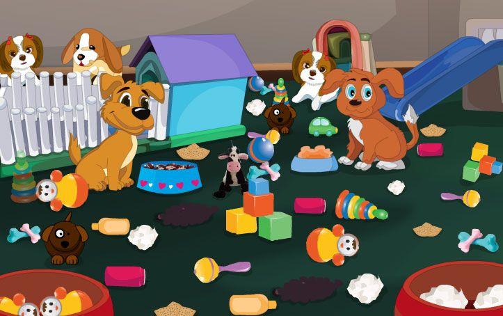 Yavru Bakımı esnasında hastalanan köpeklere yardım edebilmek için en başta onların bulundukları ortamları bir güzel temizlemeniz isteniyor. Temizlenen ortamdan sonra tedaviye başlayabilirsin.  http://www.temizlikoyunu.com.tr/yavrubakimioyunu.html