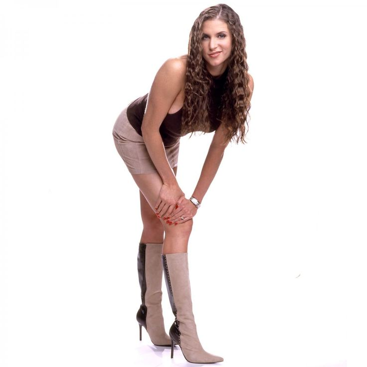 Stephanie McMahon like you've never seen her before: photos