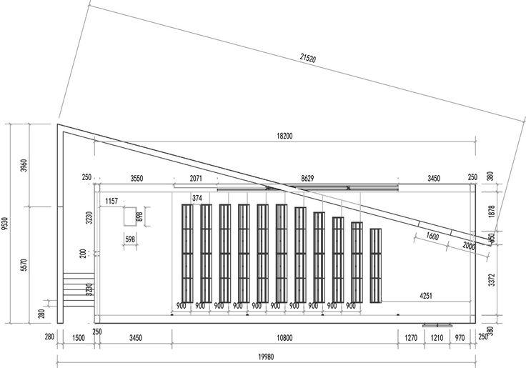 Superior Church Of Light Floor Plan Part - 3: Att?lu Rezult?ti Vaic?jumam U201cChurch Of Light - Tadao Ando - Sketchu201d | ARCHI  CHAPEL | Pinterest | Tadao Ando