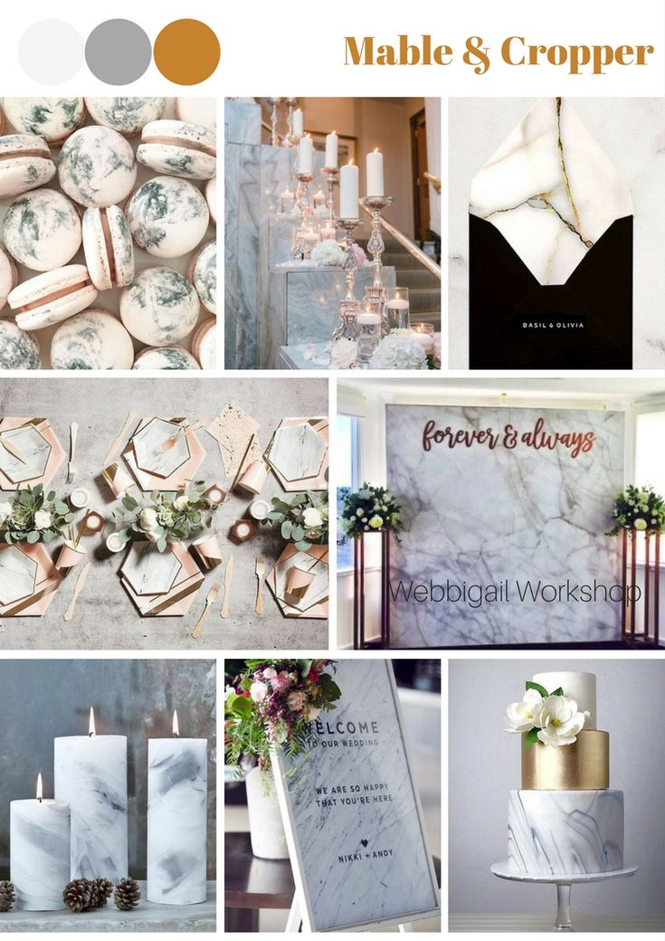 Any marble fans here? Make a marble theme wedding please